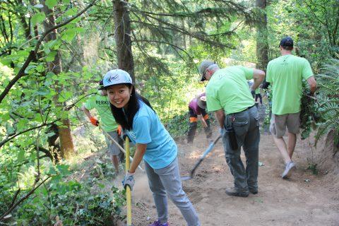 Volunteer at Hoyt Arboretum