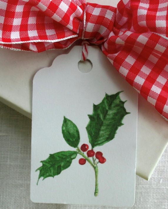 Watercolor Holiday Cards & Tags