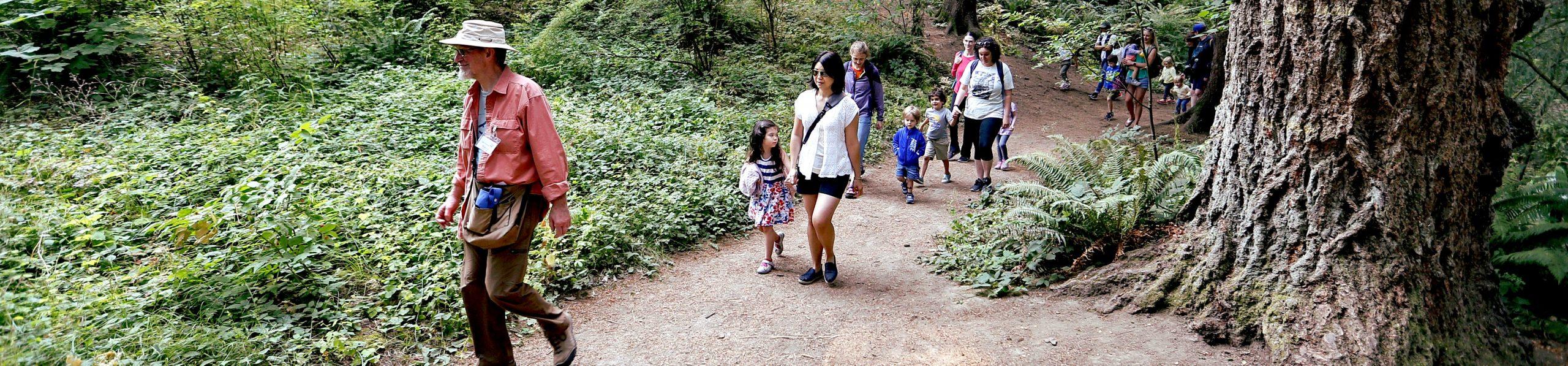 Hoyt Arboretum Family Tour